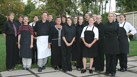 Current Cuisine Staff at the Art Ball