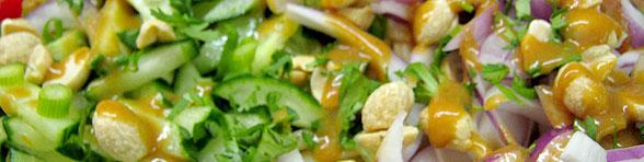 Vegetarian Catering Item: Veggie Saté