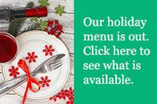 Current Cuisine Holiday Menu